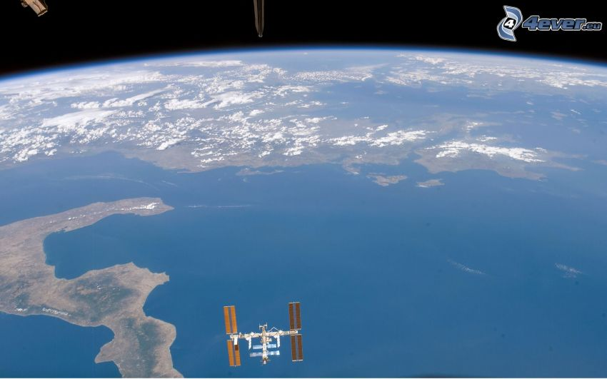 Caribbean, International Space Station ISS, Earth, view from space