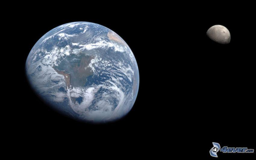 Earth, Moon