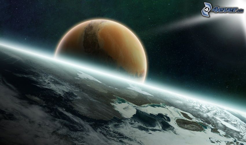 Earth, planets