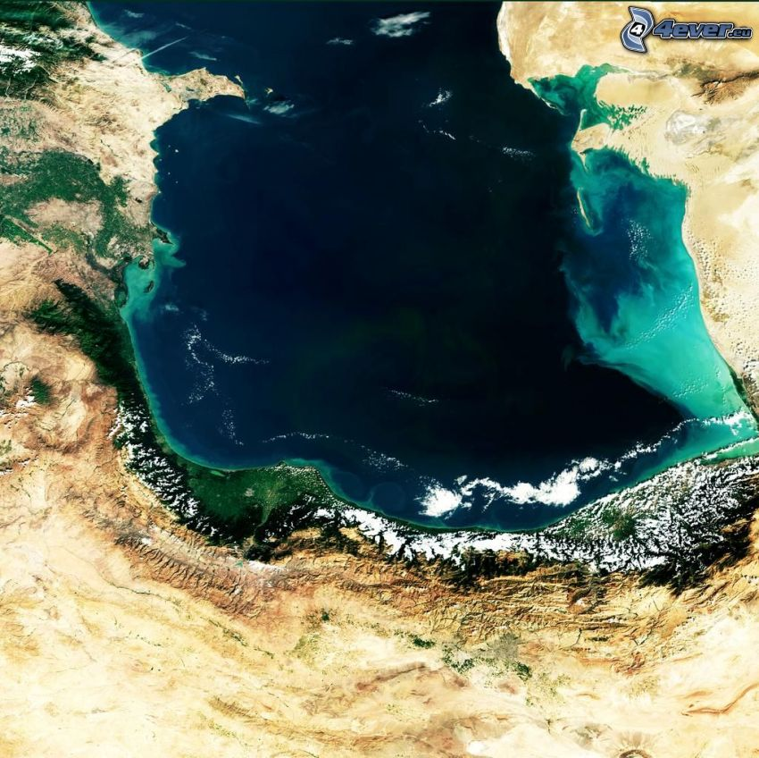 Earth, satellite imagery
