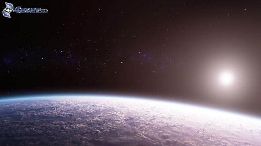 Earth, sun