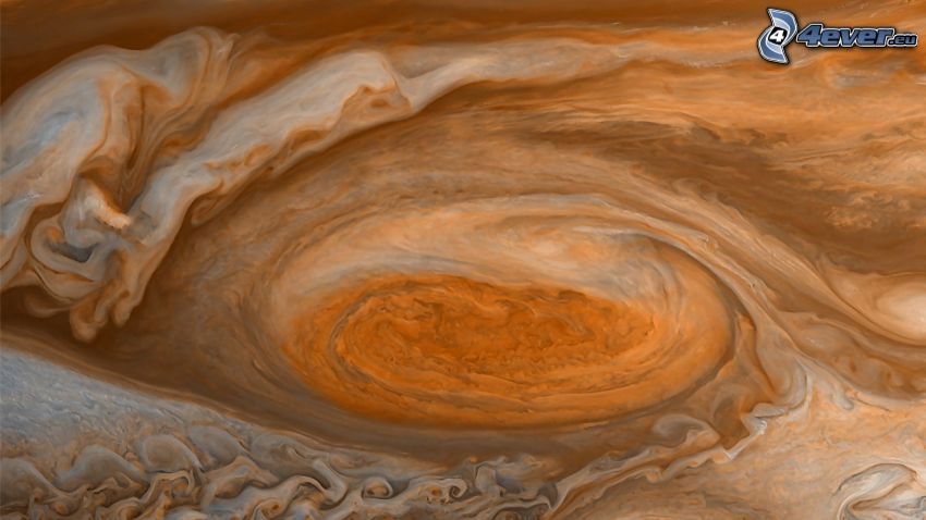 great red spot, Jupiter