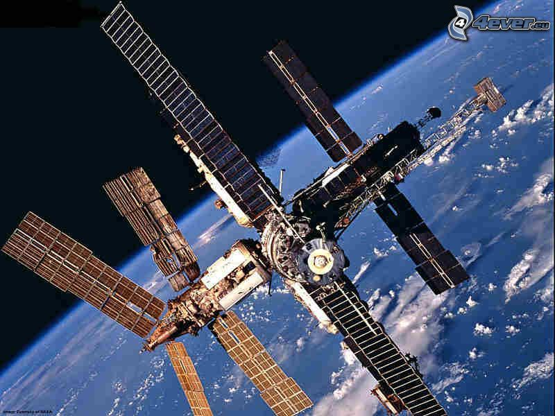 International Space Station ISS, universe, Earth