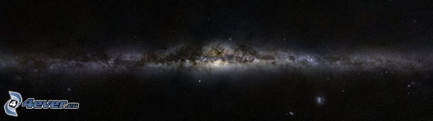 Milky Way, panorama