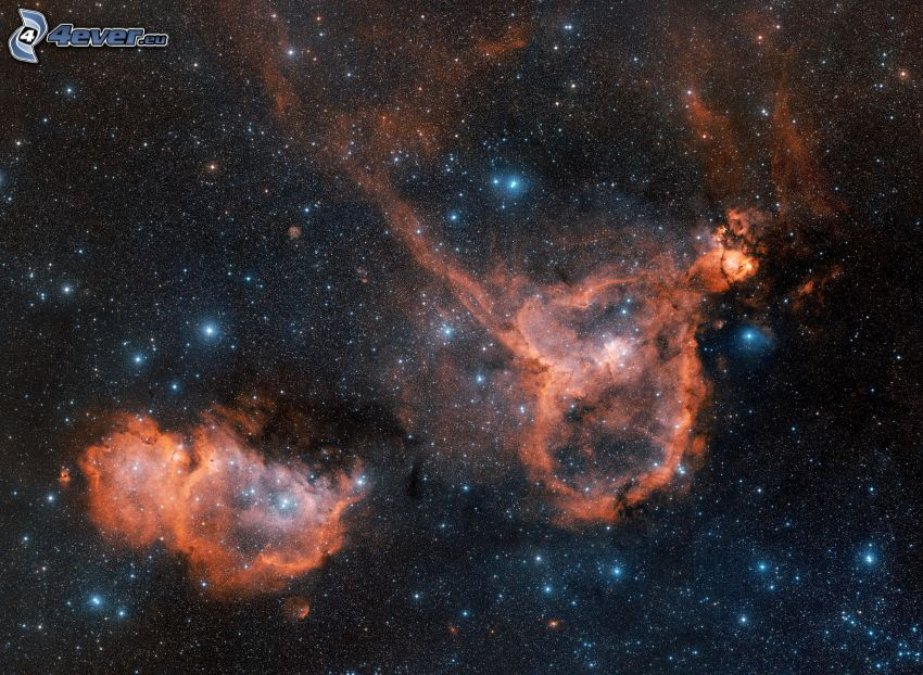 nebula, stars