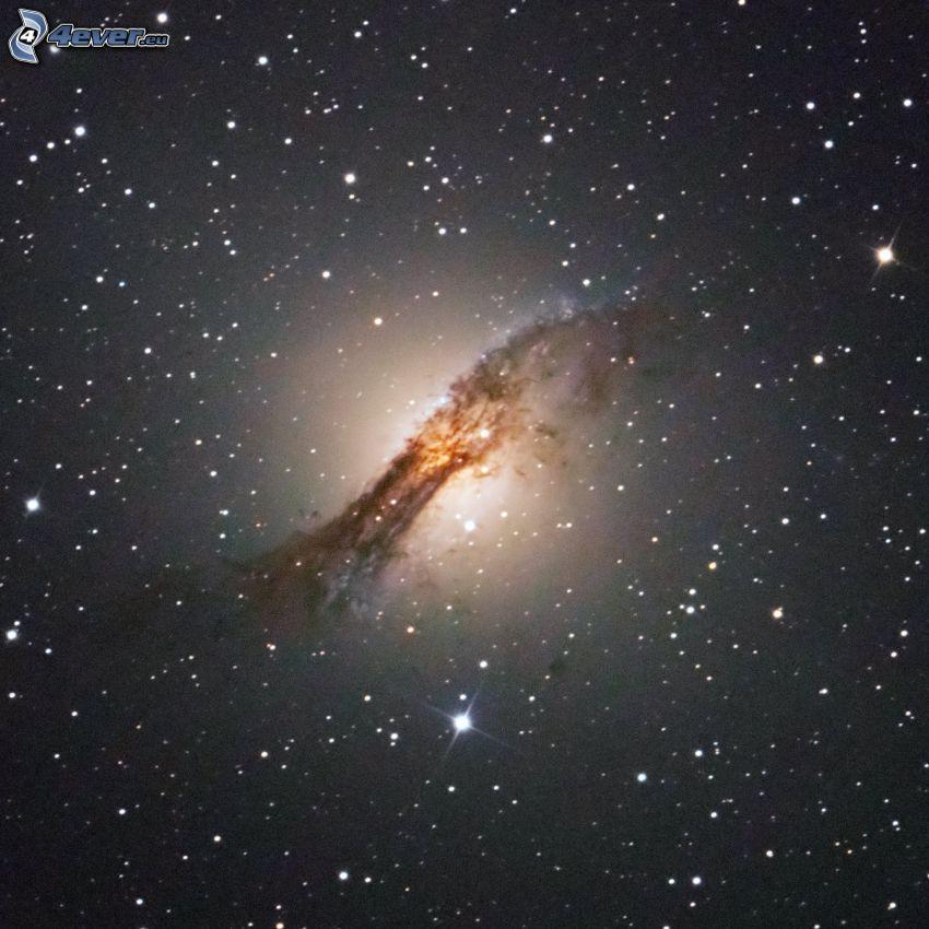 NGC 5128, galaxy, stars