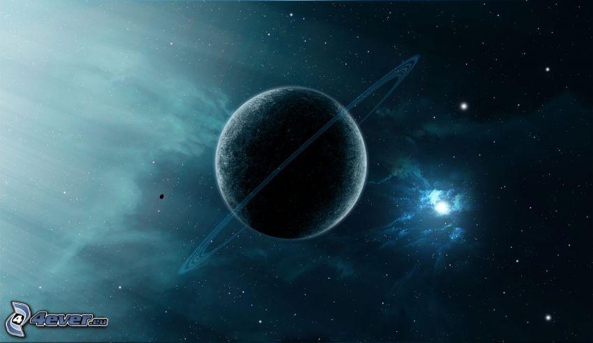 planet, stars
