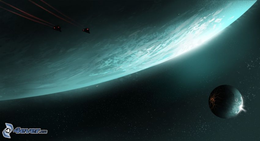 planets, sci-fi