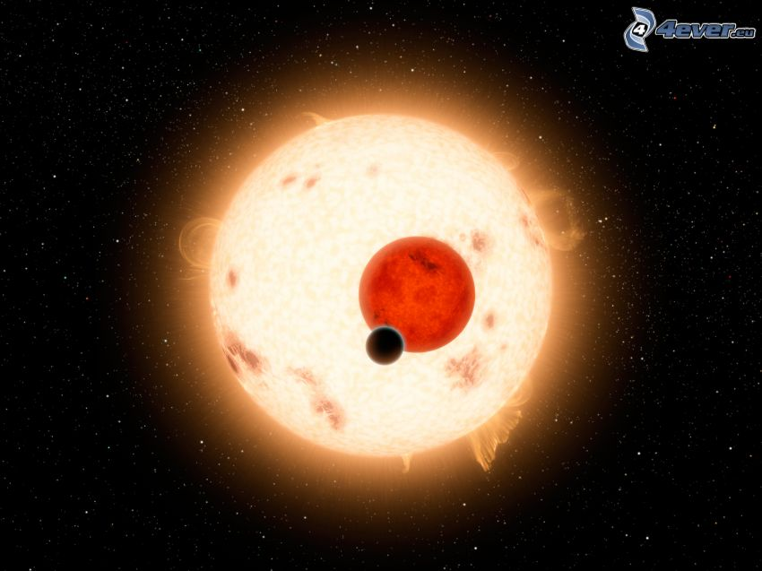 planets, sun, stars