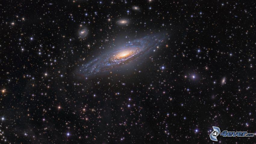 spiral galaxy, stars