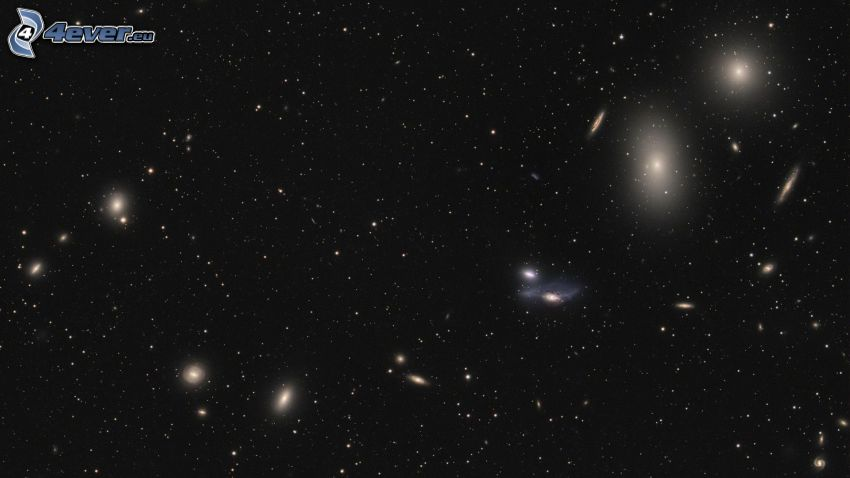 universe, galaxies, stars