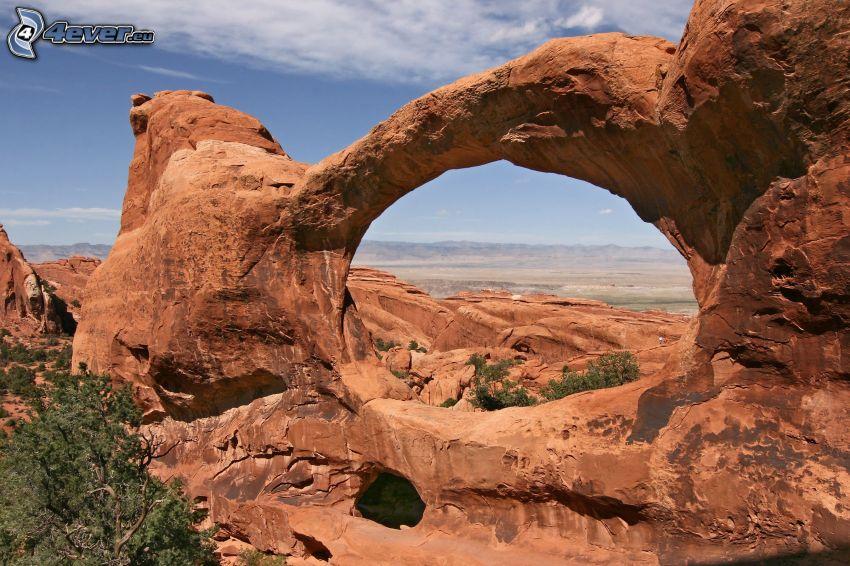 Utah National Park, natural stone gate