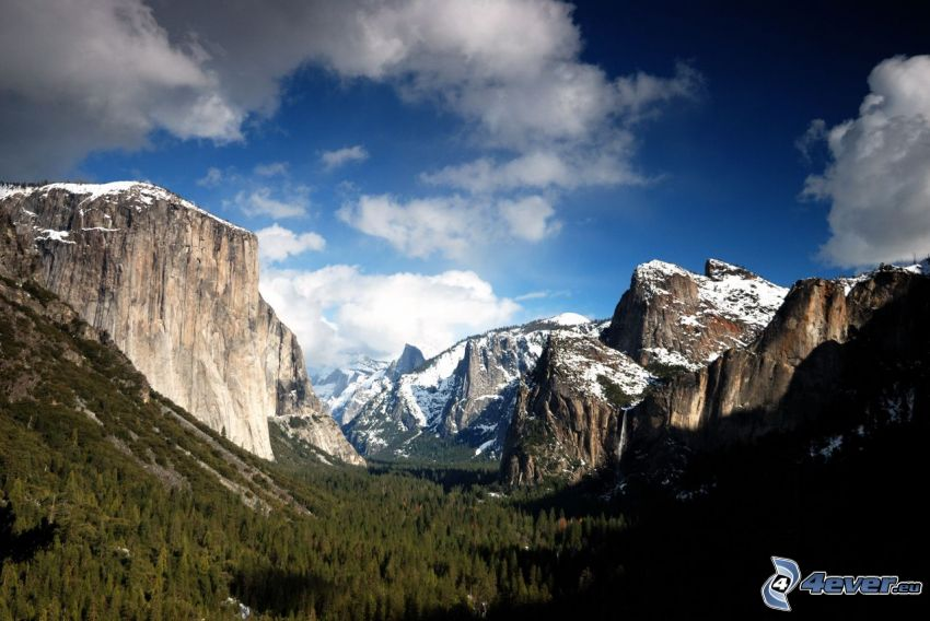 valley, Yosemite National Park