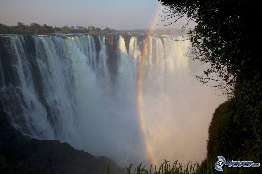 Victoria Falls, rainbow
