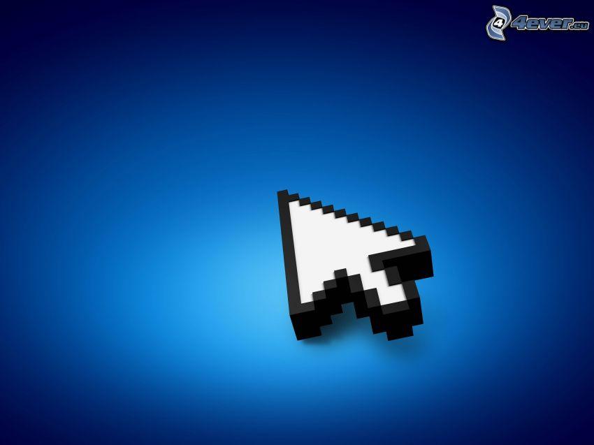 arrow, cursor