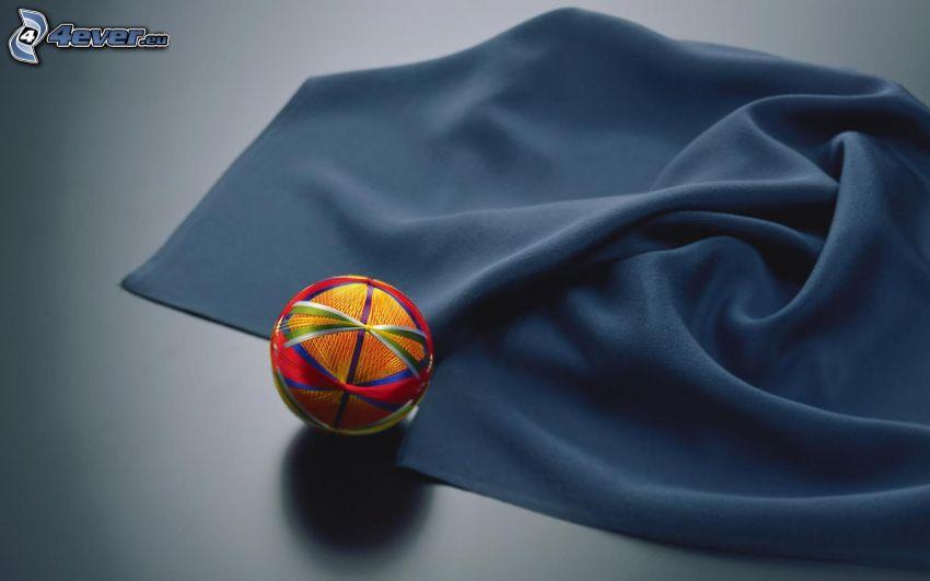 ball, fabric
