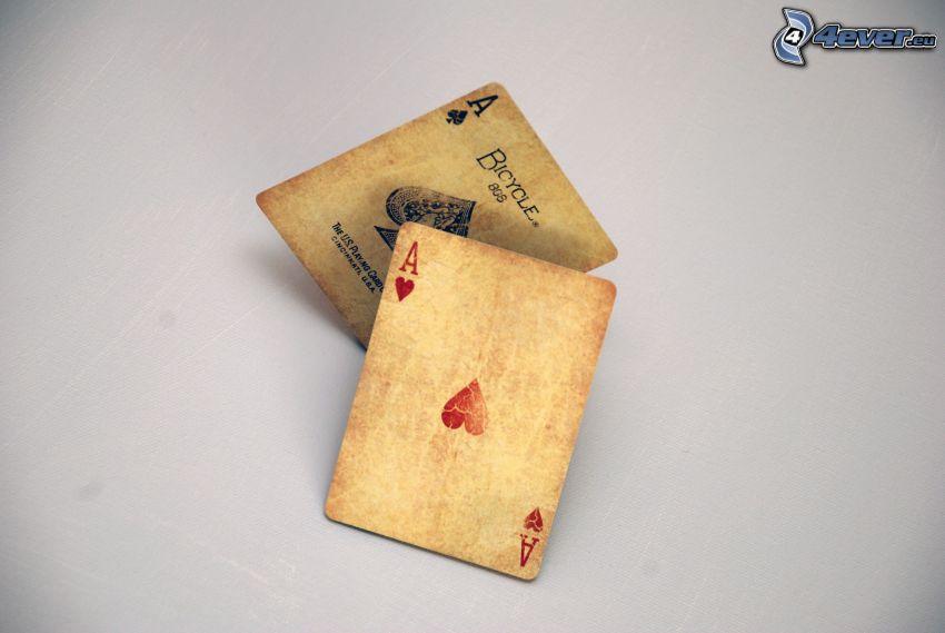 cards, ace