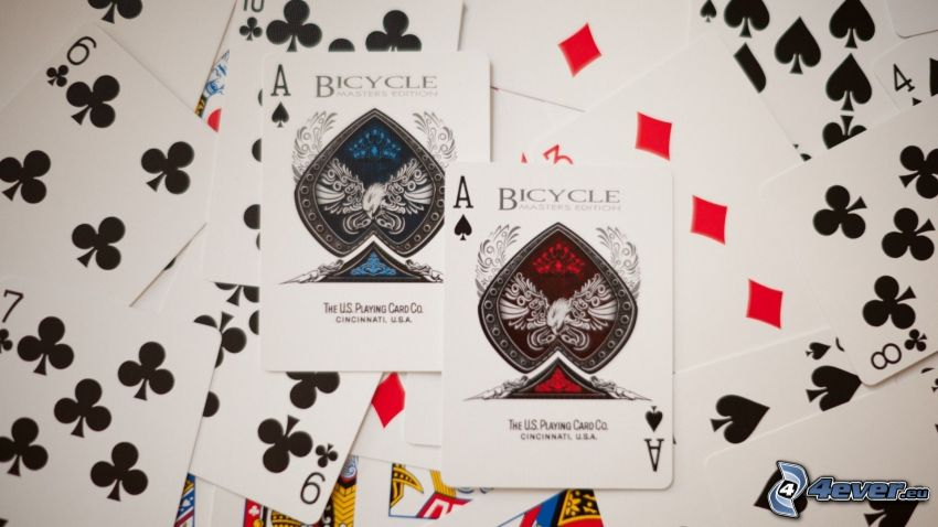 cards, aces