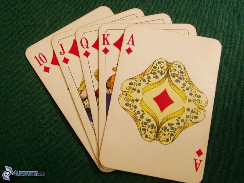 cards, poker