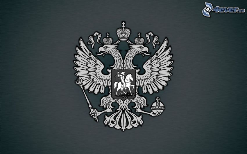 coat of arms, black and white