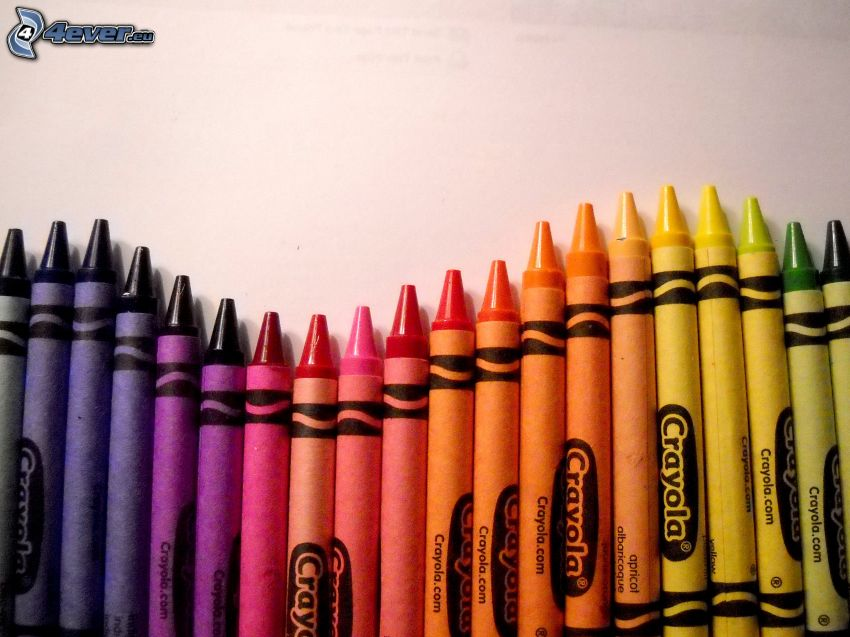 crayons, colors