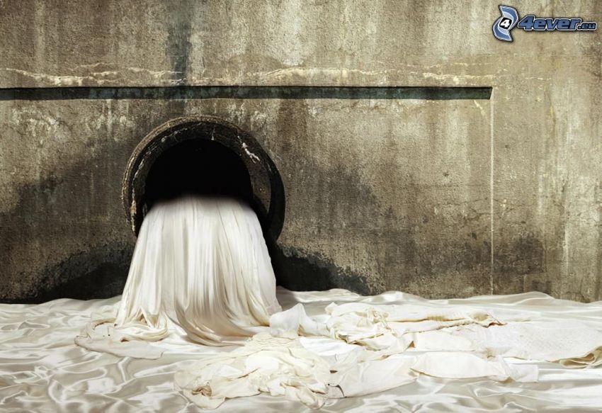 fabric, tunnel