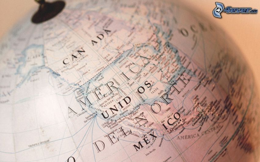 globe, world map