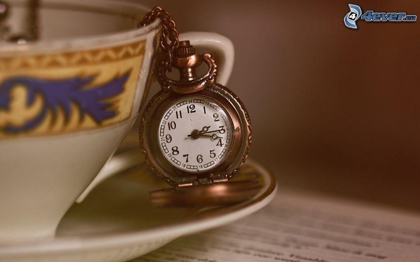 historic clocks, cup