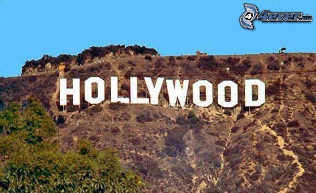 Hollywood, Los Angeles, USA, hill