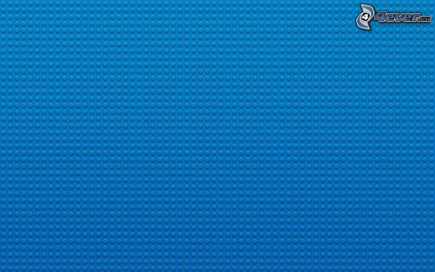 Lego, blue background