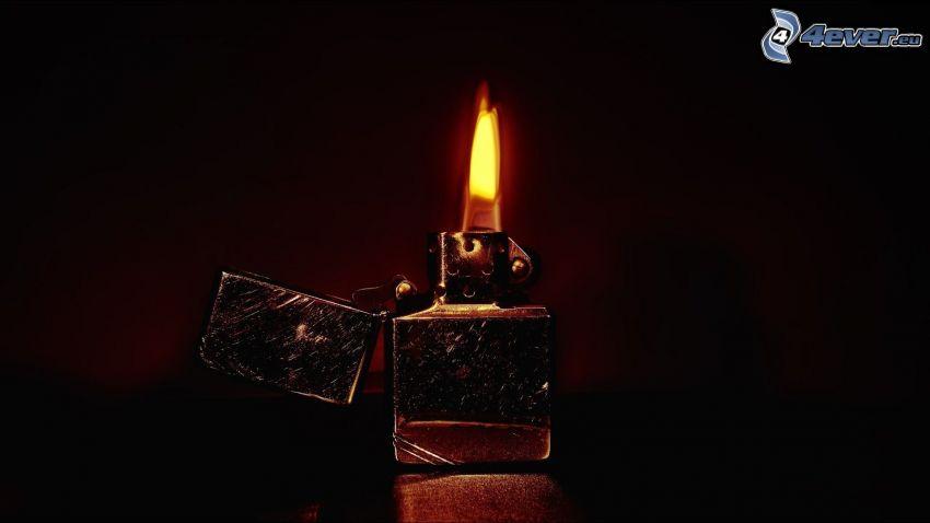 lighter, fire