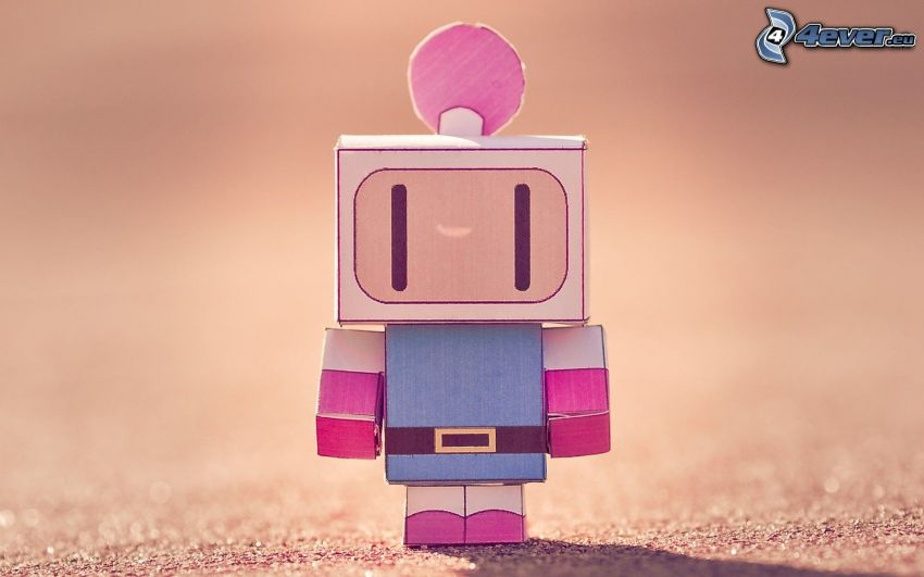 paper robot, Dyna Blaster