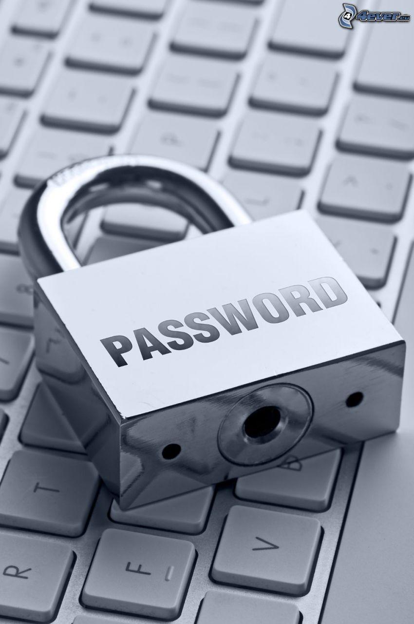 password, keyboard, lock