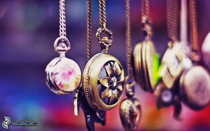 pendants, necklaces