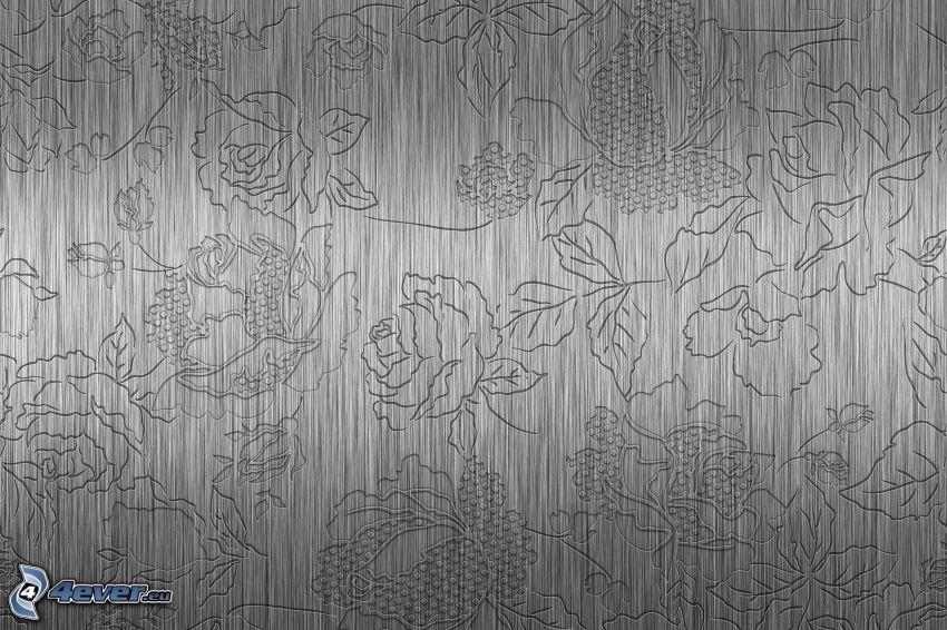 roses, cartoon flowers