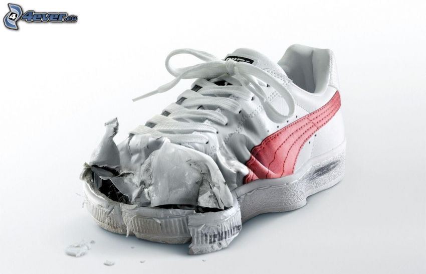 sneaker, accident