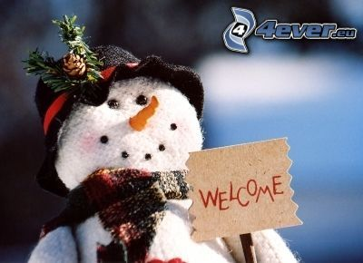 snowman, welcome