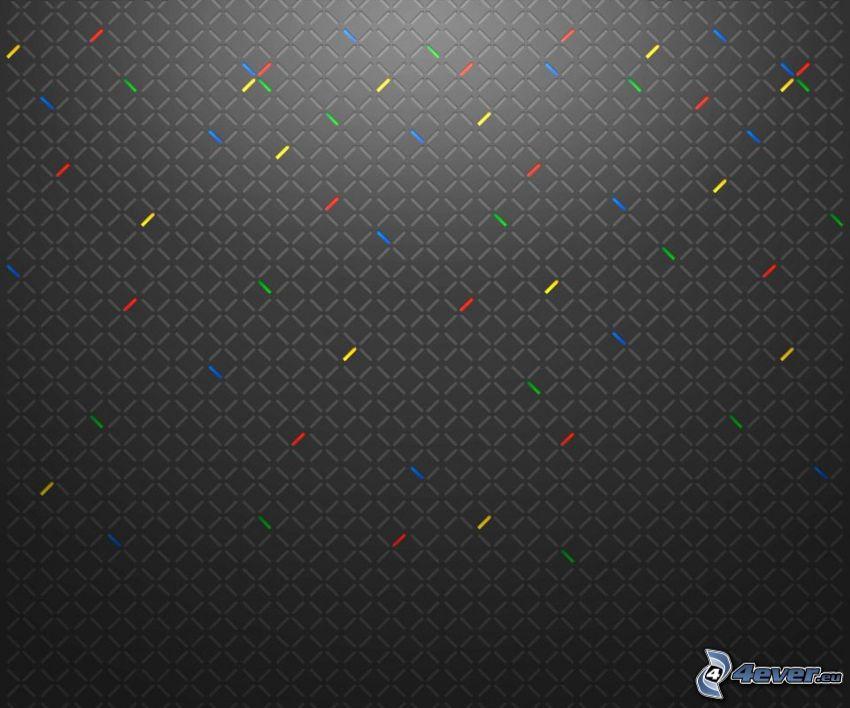 squares, lines