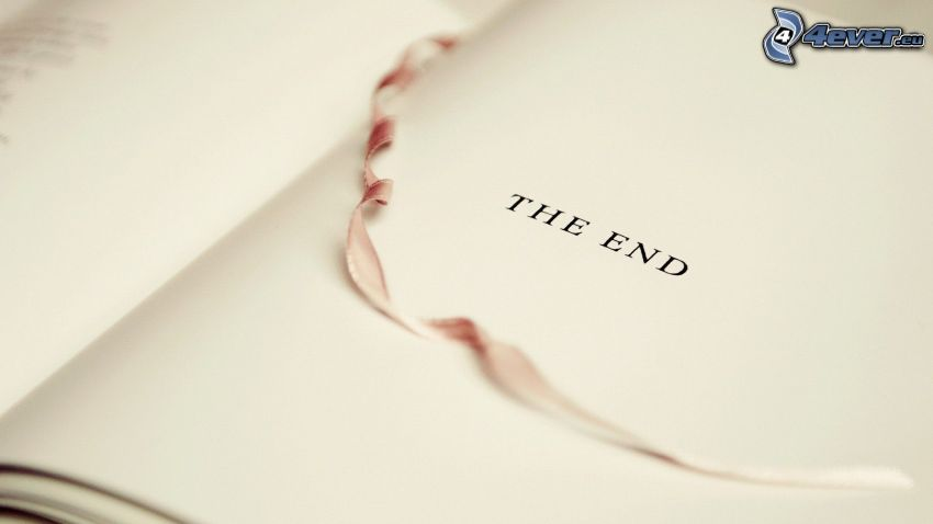 the end, book