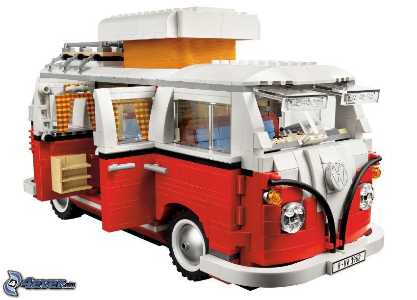 Volkswagen Type 2, Lego, caravan