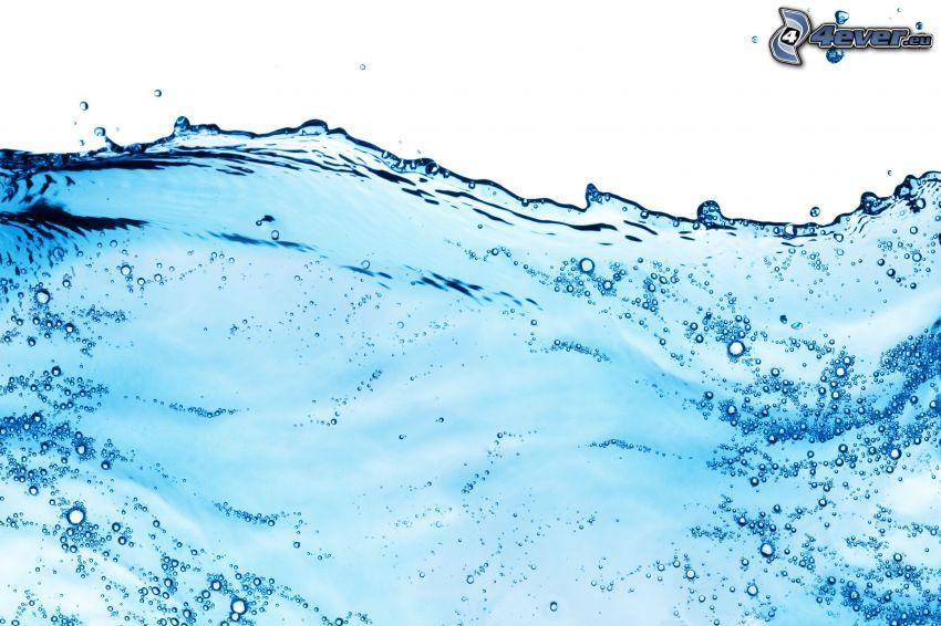 water, bubbles