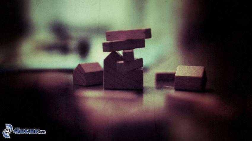 wooden blocks
