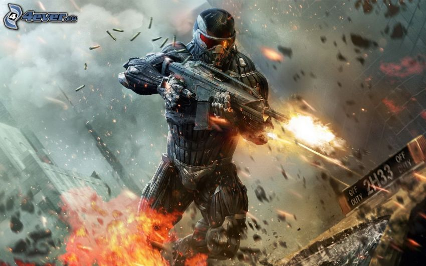 Crysis 2, soldier