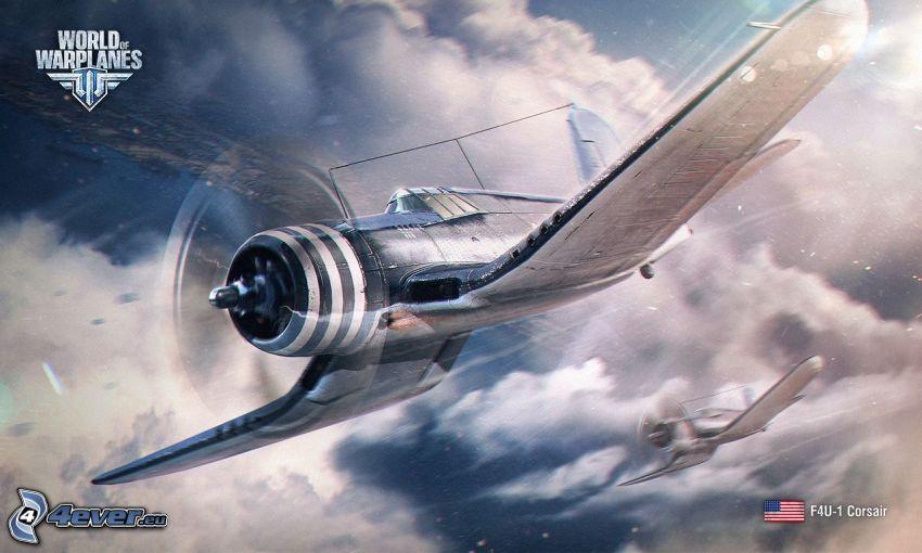 F4U Corsair, World of warplanes