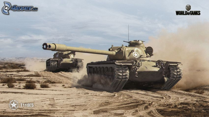 World of Tanks, desert