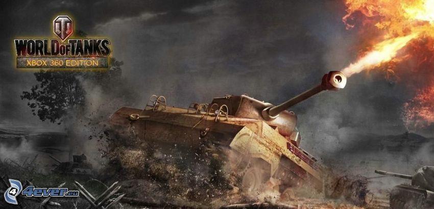 World of Tanks, shooting