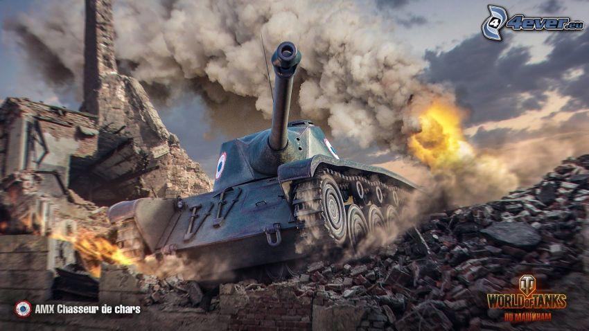 World of Tanks, tank, fight