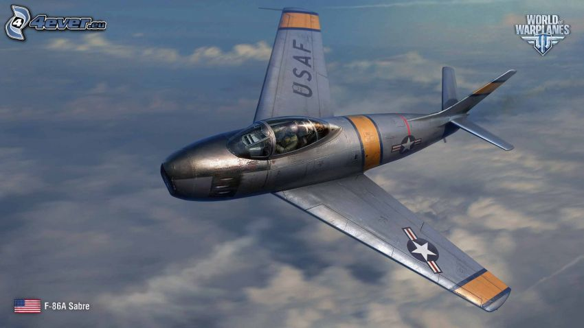 World of warplanes, F-86 Sabre