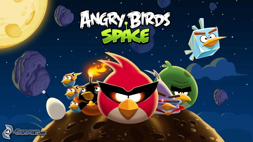 Angry birds, universe