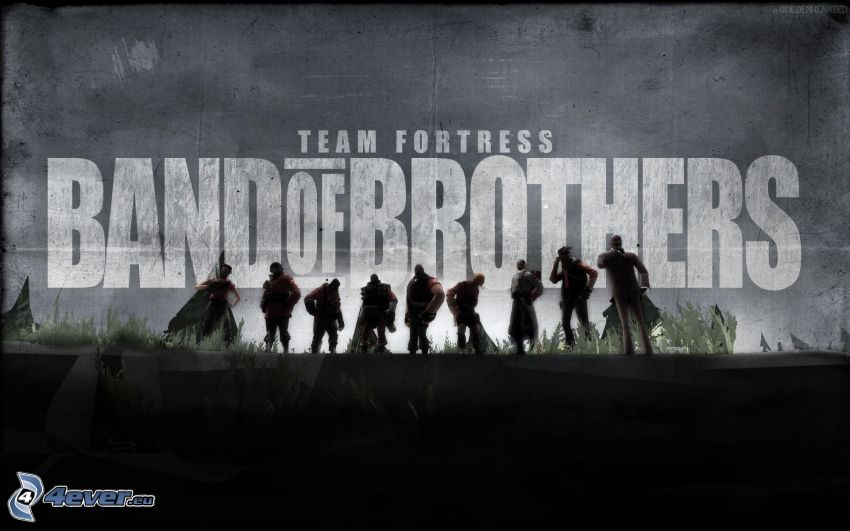 Band Of Brothers, silhouette